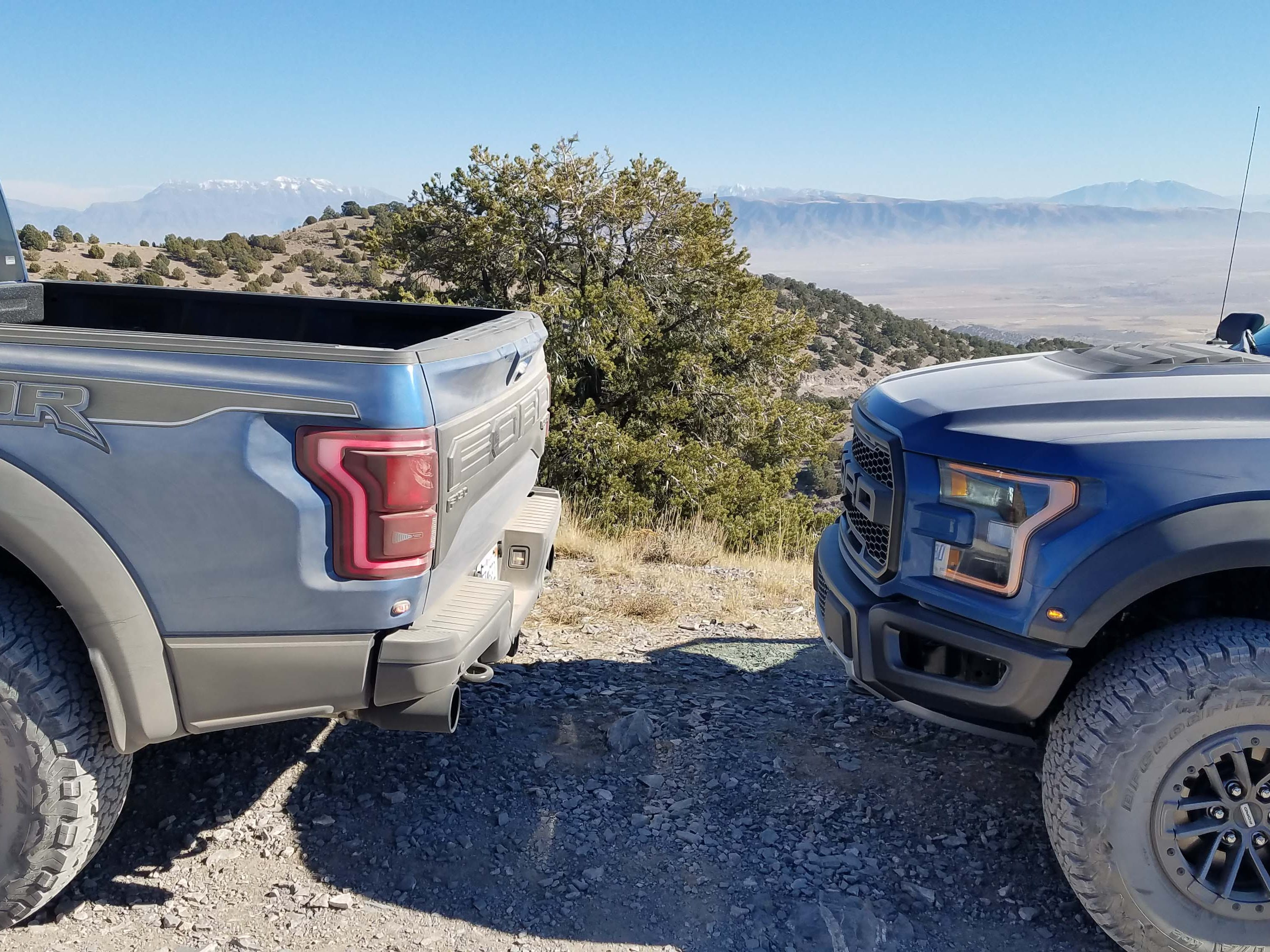 The front and rear fascias of the 2019 Ford F-150 Raptor are little changed from the second-gen model that debuted for the 2017 model year. The most important upgrades are in suspension, electronics and seating.