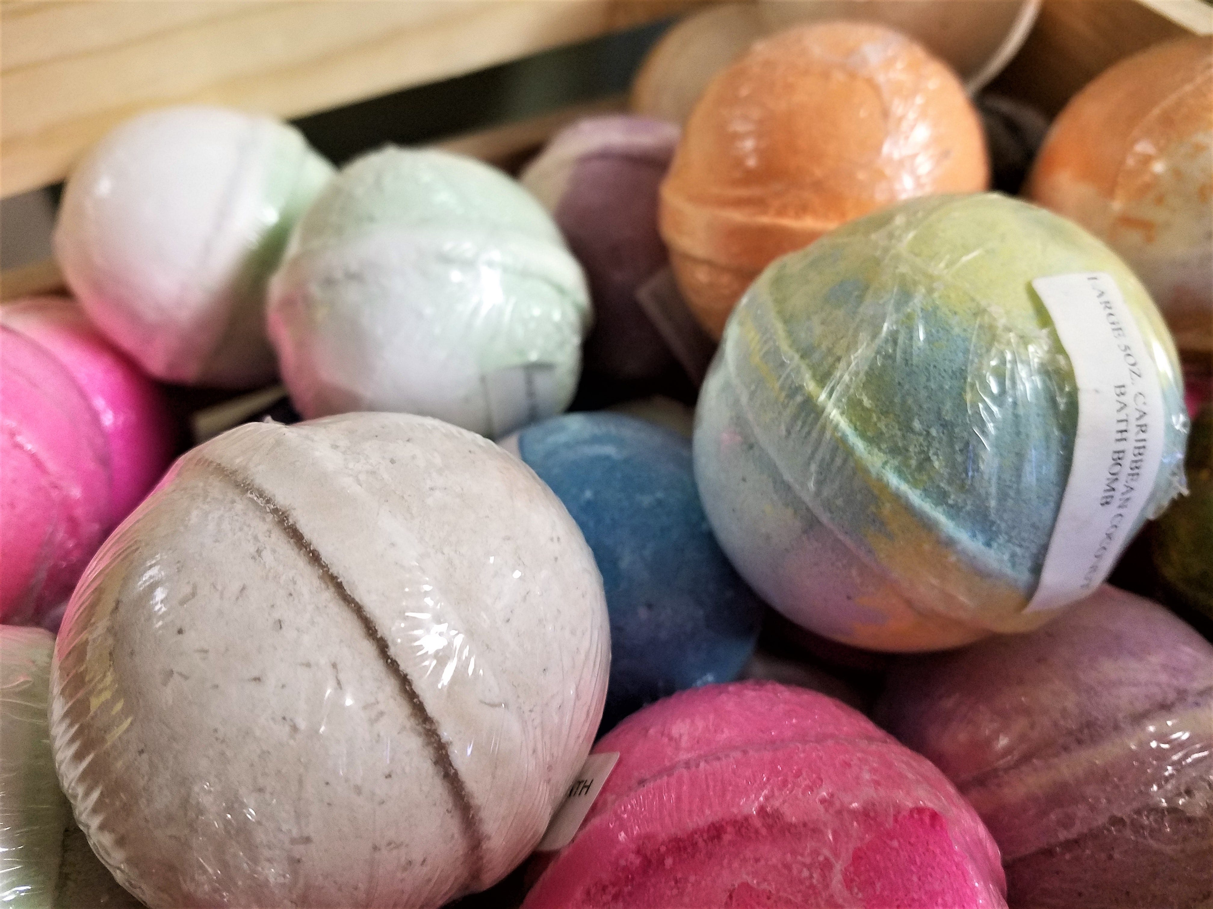 African American Museum, hand made bath bombs.