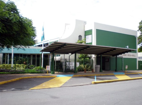 The front of Rosa-Bell School in Guaynabo, Puerto Rico.