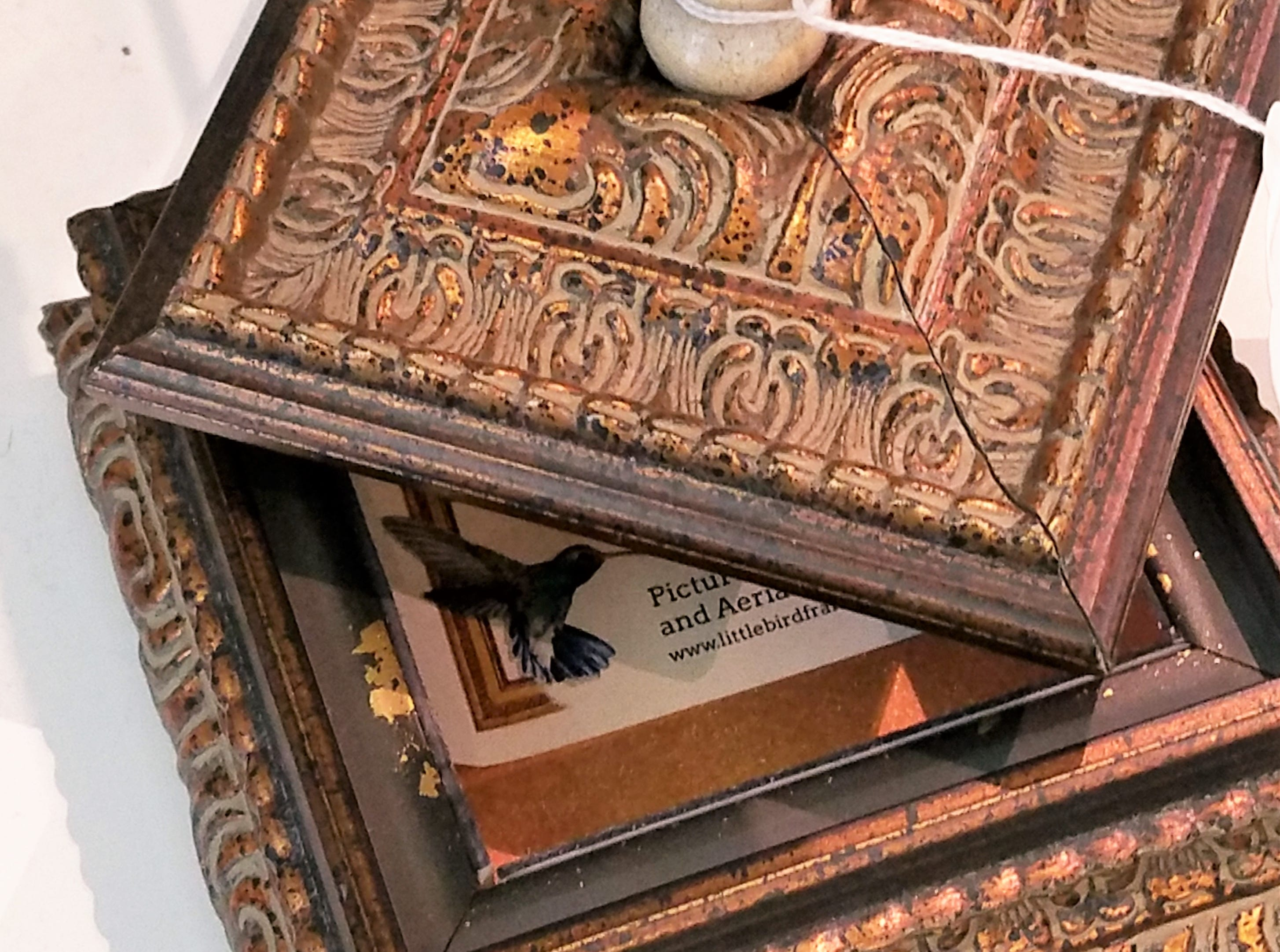 Evansville Museum of Arts, History and Science, trinket box by Little Bird Framing.