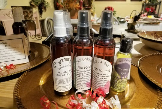 SassaFrassy's, essential oil products from Forston Farms.