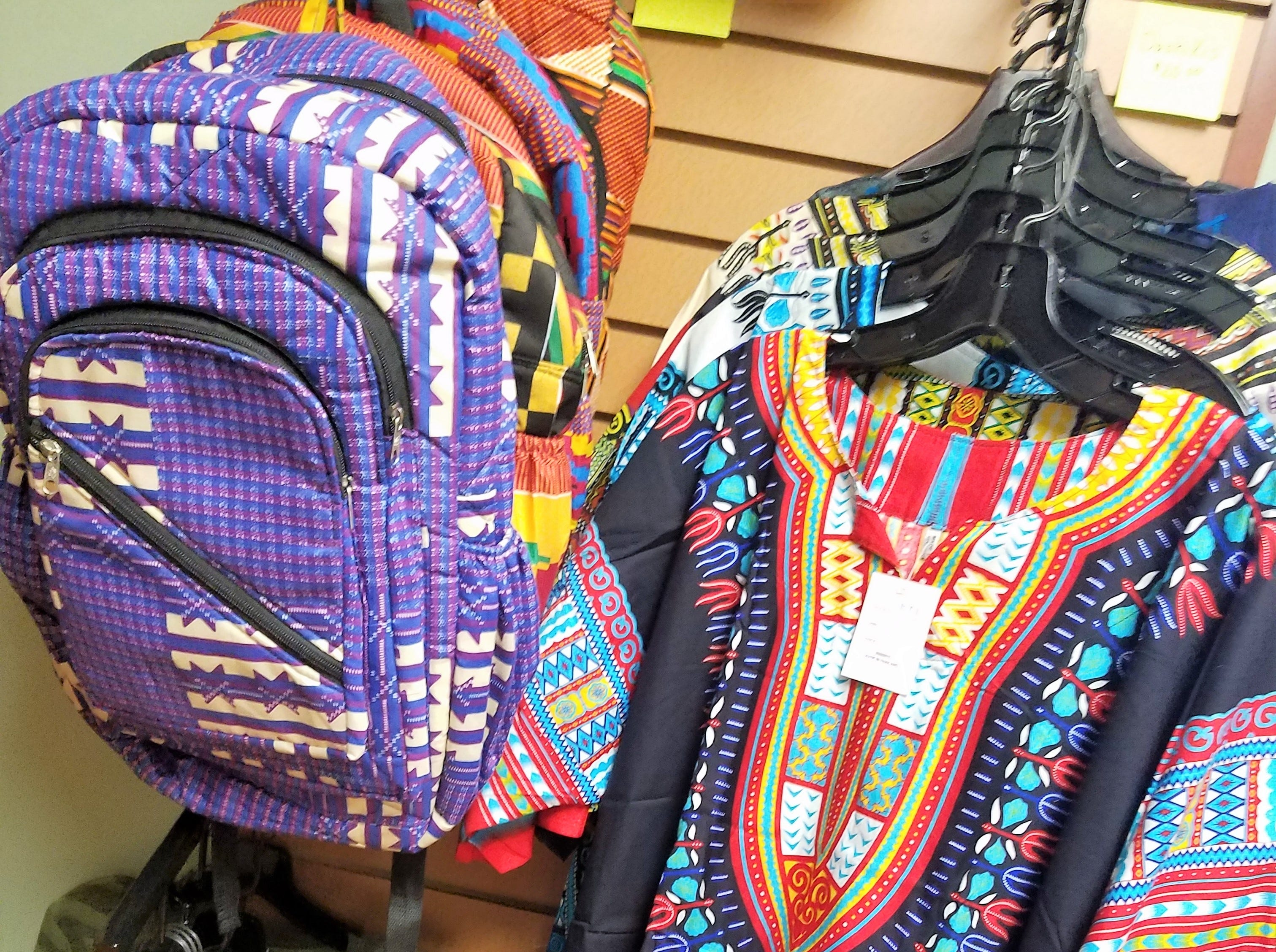 Evansville African American Museum, import fabric goods and clothing from Africa.