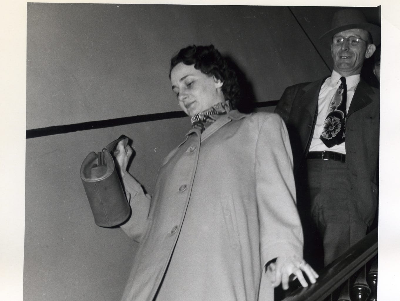 Mrs. Clarice Spurlock who was accused of poisoning her parents in 1949.