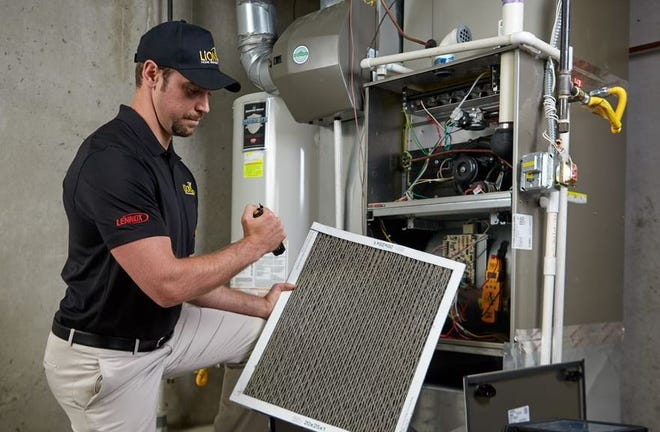 Checking your furnace filter is one of the most important things you can do to keep the heat on during cold weather.