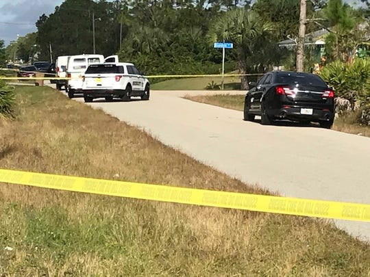 An active homicide investigation involving the Lee County Sheriff's Office was underway at 28th Street W and Quentin Avenue South in Lehigh Acres Monday.