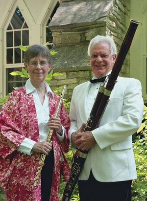 The Midsummer's Music Resident String Quartet program was selected to receive a $5,000 grant from the Green Bay Packers Foundation. Pictured are Midsummer's Music founders Jean and Jim Berkenstock.