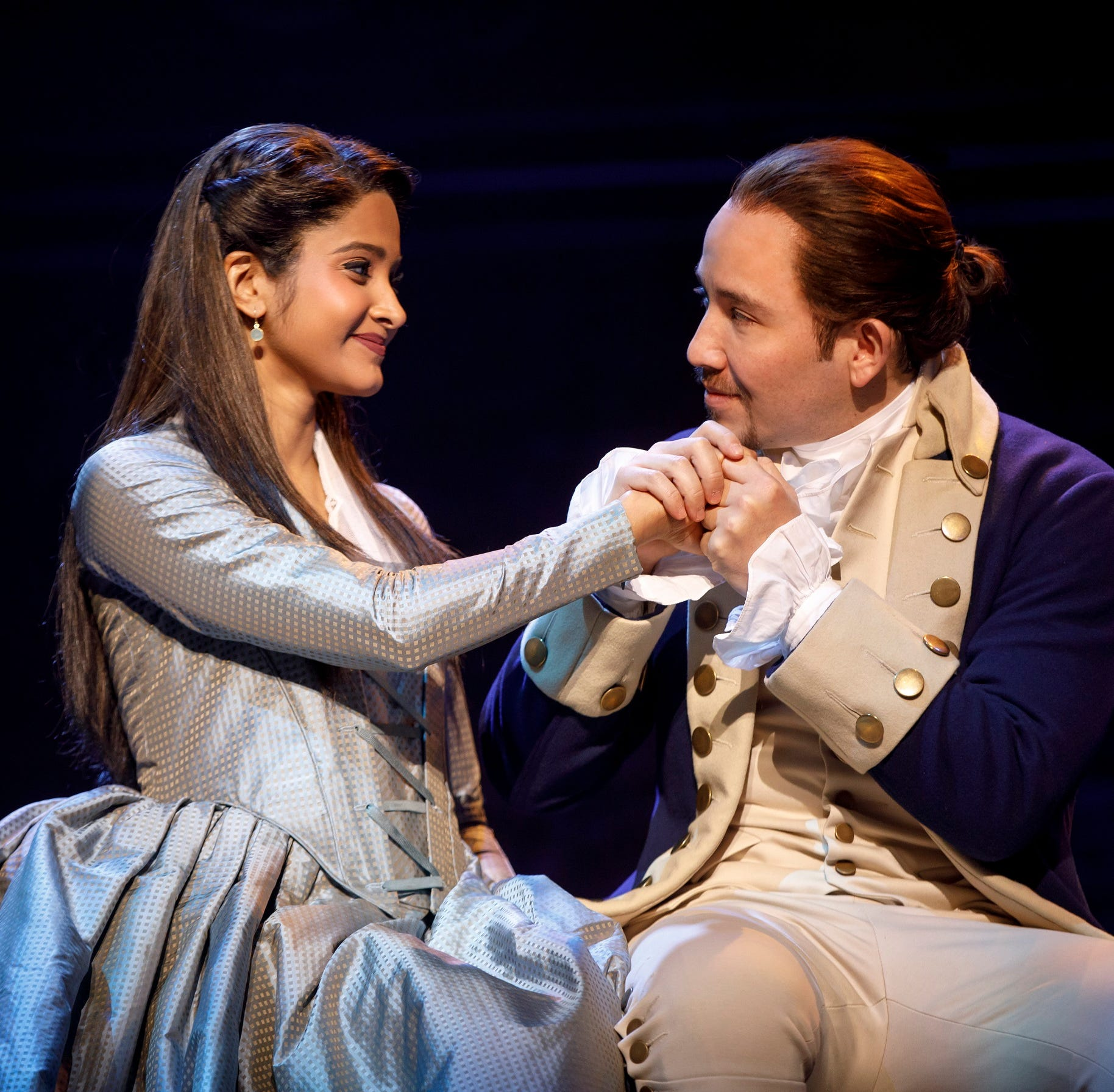 Despite the snow, 'Hamilton' goes on as scheduled in Greenville's Peace Center