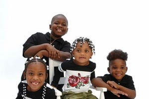 Four siblings — Robbiana Evans, 6; and Jamire Halley, 8; Ar'mani Jamison, 2; and Arnez Yaron JamisonJr., 4 — died in December 2018 in a crash in outside of Greenville, South Carolina.