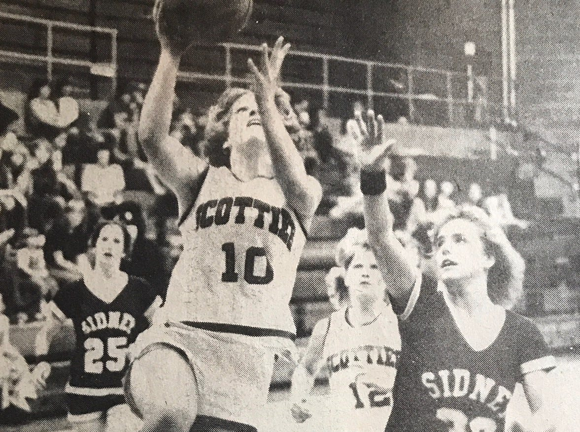 Marjie Connors of Glasgow was a great player for the Scotties and a member of the Tribune's Greatest of All-Time team for the school.