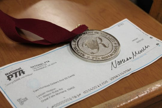 Hodson's Young Artist Scholarship and silver medal