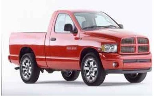 The Fontenots are believed to be traveling in a 2003 red Dodge Ram 1500 like the one pictured here.