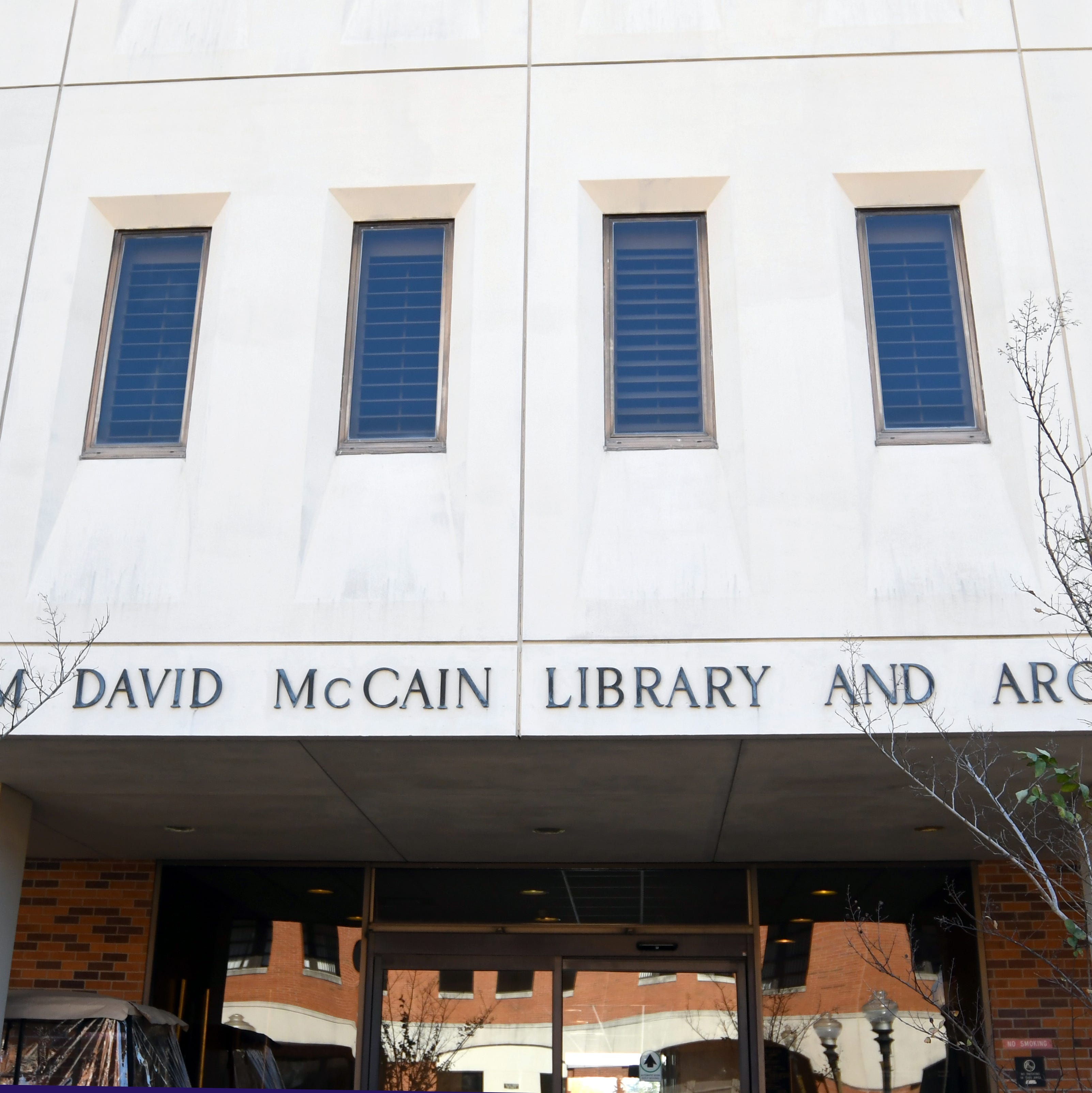The University of Southern MississippiÕs Student Government Association is looking into how spaces are named at the school. The move comes after a student complained that McCain Library and Archives was named after fifth Southern Miss President William McCain, who may have been opposed to desegregation at the university.
