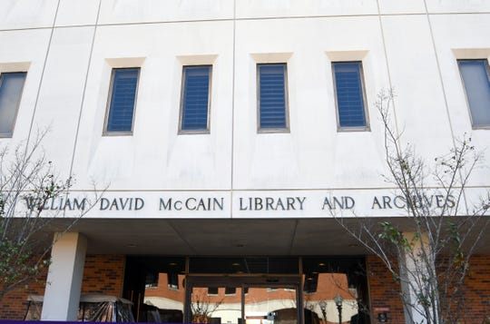 An ad hoc student government committee has been formed at Southern Miss to look into the background of how campus spaces are named, after a controversy erupts over the naming of McCain Library.