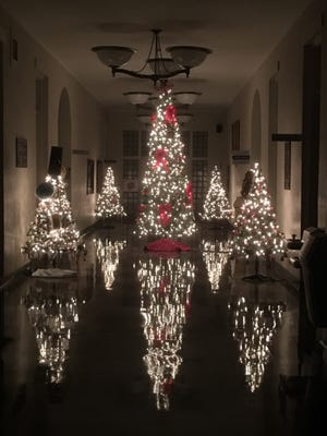 Christmas at the Union County Courthouse 2018.