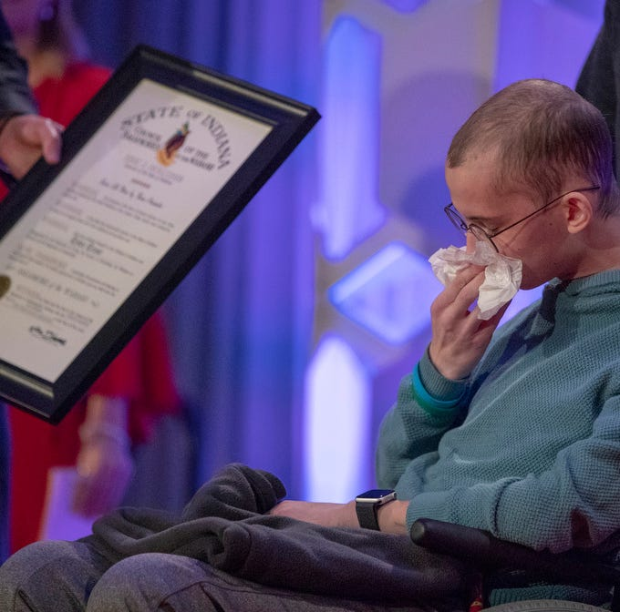 President Donald Trump sends letter to Tyler Trent