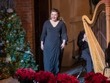 """Michele McConnell, who starred in Broadway's """"Phantom of the Opera,"""" is in town for holiday concerts with the Indianapolis Symphonic Choir."""