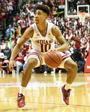 Freshman point guard Rob Phinisee has provided some clutch moments for the Hoosiers.