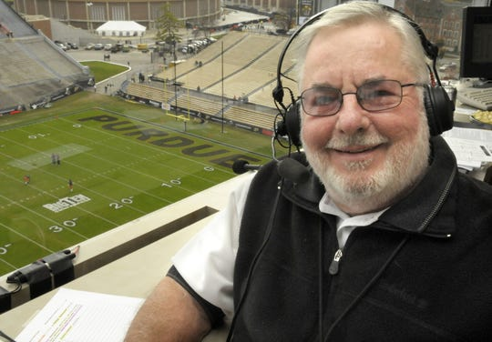 Joe McConnell broadcast Purdue football games from 1994 through 2009