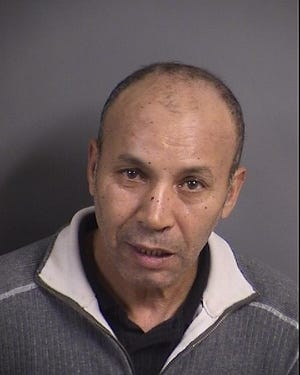 Rachid Jadili, 55, faces robbery and assault charges after police arrested him Friday, Dec. 7.