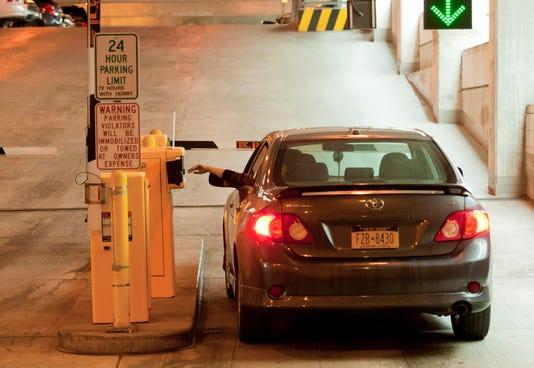 20130913 Parking Garage Sw
