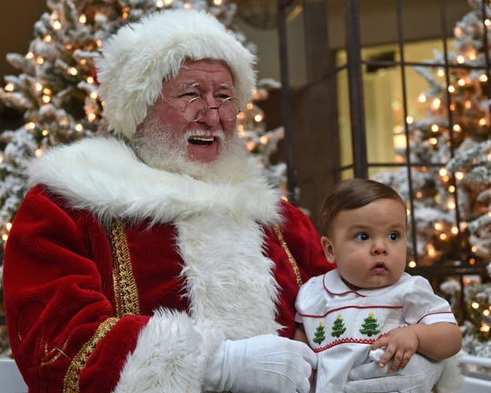 The holiday season means snagging a cute photo of the kids with Good Ol' St. Nick. Here's where he will be in the Jackson metro this month.