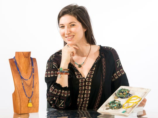 Hannah Rollins is the owner of The Silver Mermaids jewelry business.