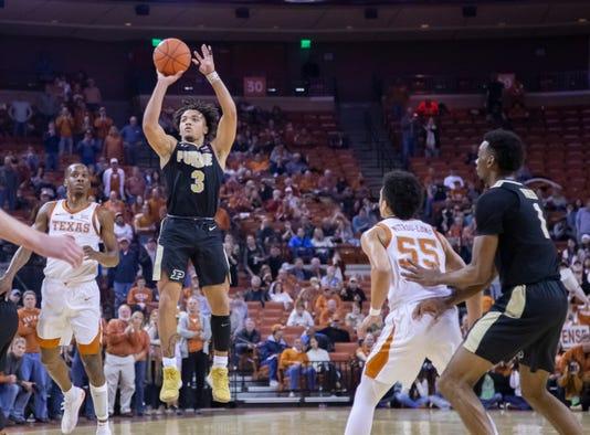 Ncaa Basketball Purdue At Texas