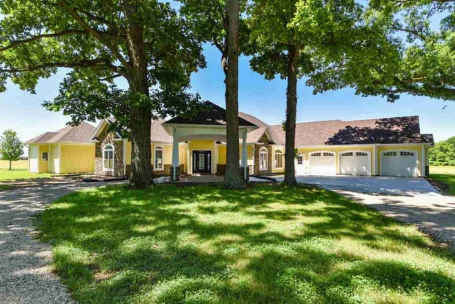 Sprawled across two acres in West Lafayette just off I-65 with easy access to Purdue University, this home is just rural enough to be on the edge of the best of both worlds.