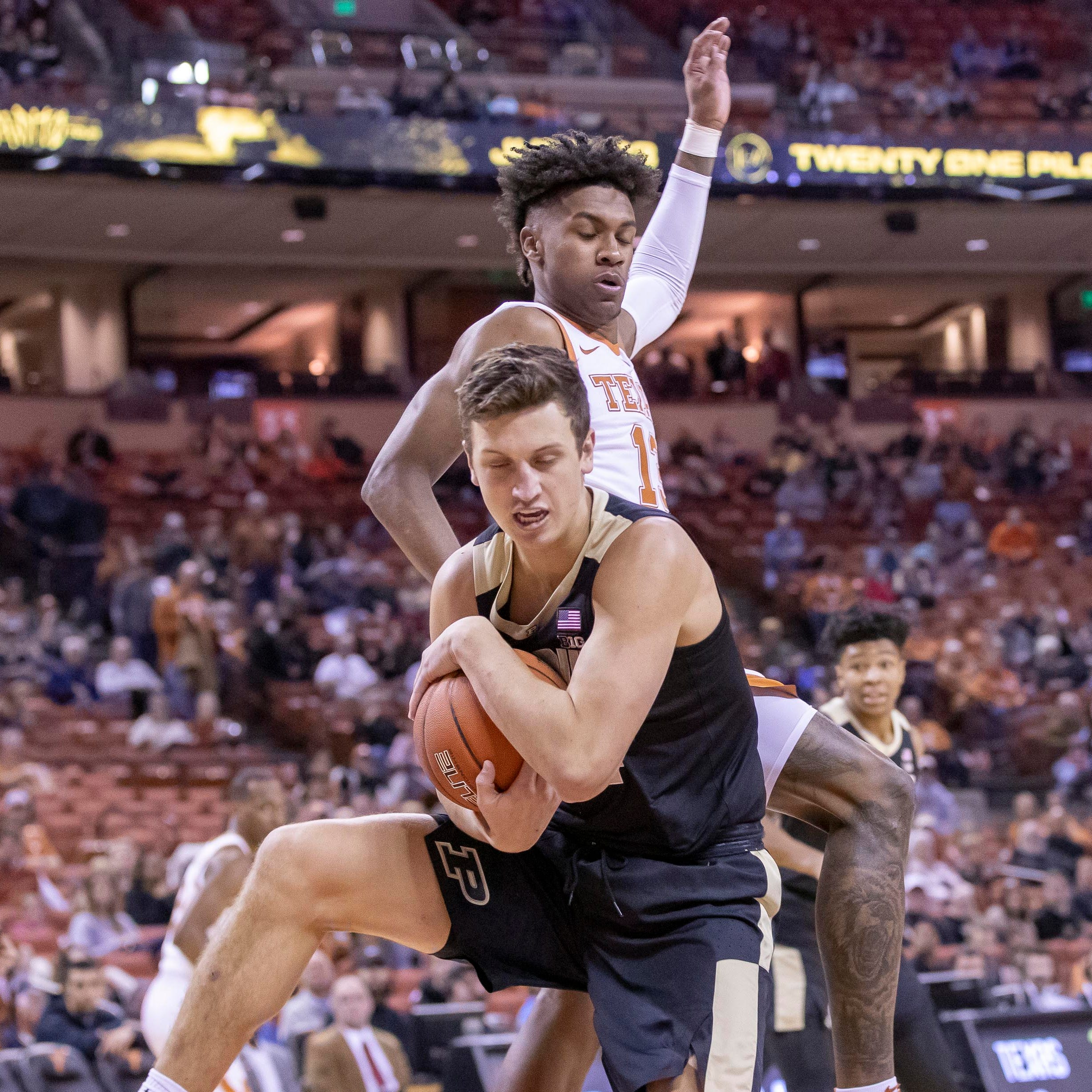 Carsen Edwards' huge game can't lift Purdue basketball past Texas