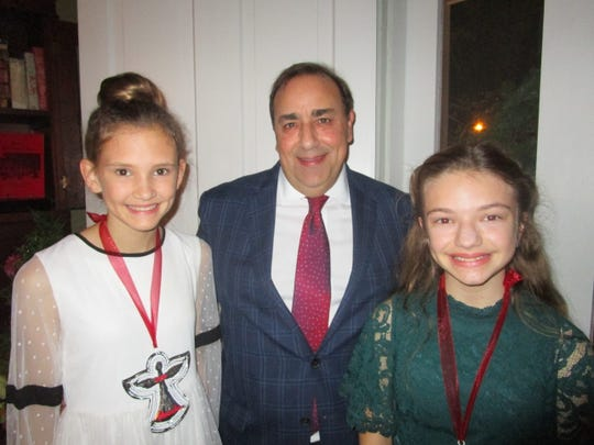 Alexandra Bernard, Mark Ackal and Grace Chastant