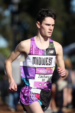 Zach Stewart of Brighton finished 17th at the Foot Locker national cross country meet in San Diego on Saturday, Dec. 8, 2018.