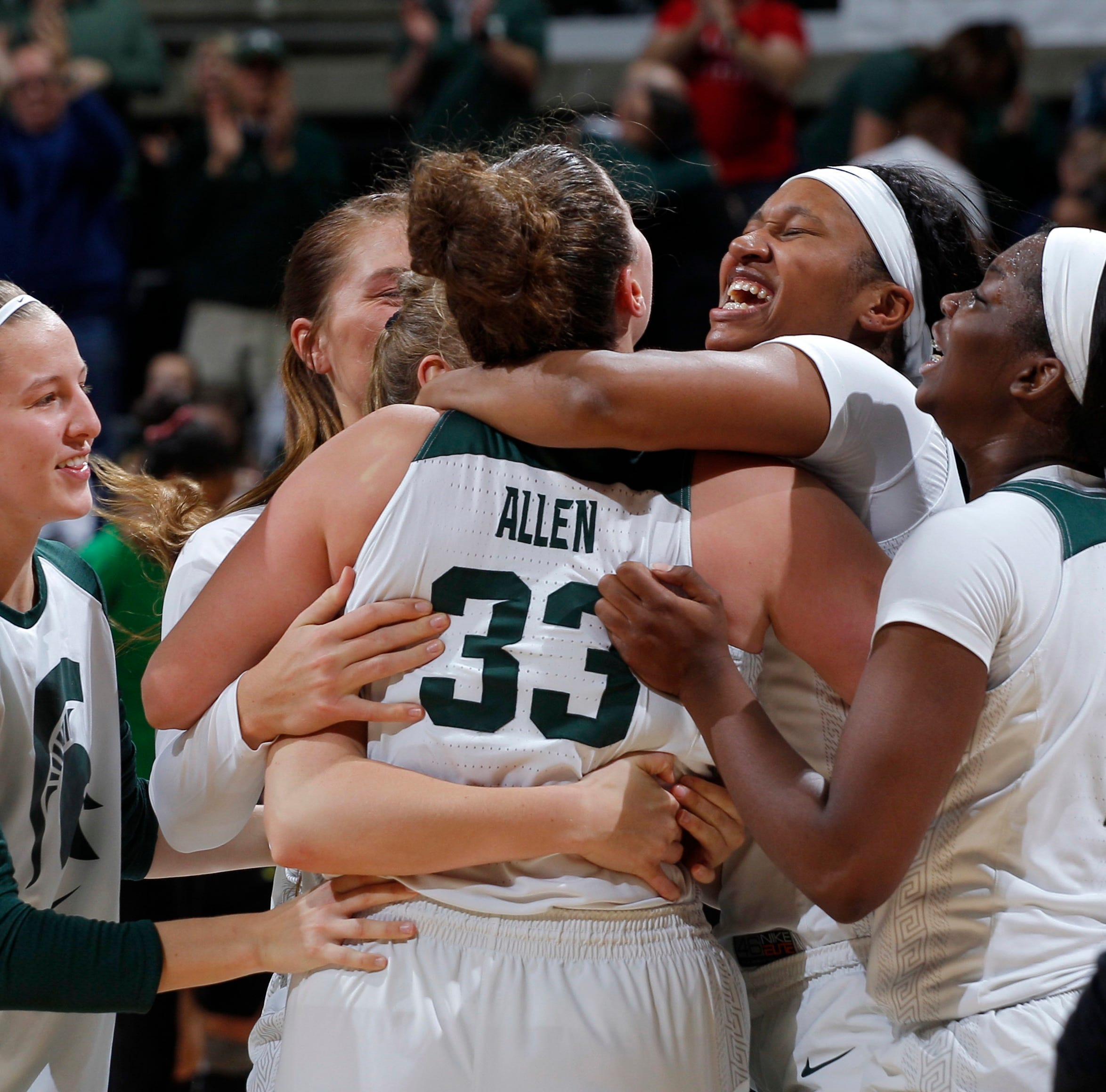 Michigan State women's basketball shows what could be with upset of No. 3 Oregon
