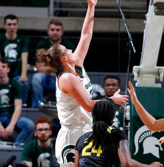 For first time in two years, Michigan State women's basketball is in top 25 of AP poll