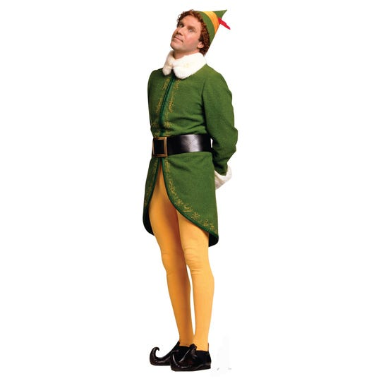 """Elf,"" starring Will Ferrell, screens Wednesday night at the Orpheum in a fundraiser for the Mid-South Food Bank."