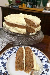 Spiced Carrot Cake is just the sweet ending needed to a simple but festive New Year's Day meal.