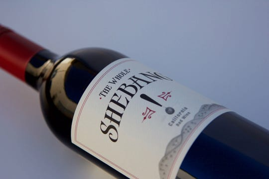 Zinfandel predominates in The Whole Shebang red blend from California.