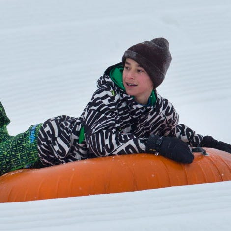 Sledding is fun, but it's not the only thing to do outside in winter. Here are 10 additional ideas.