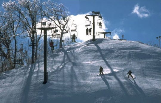 The Mountain Top ski hill at the Grand Geneva Resort in Lake Geneva is a great spot for beginners to learn to ski and snowboard.