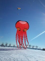 The Cool Fool kite festival is on New Year's Day at Veterans Park in Milwaukee.