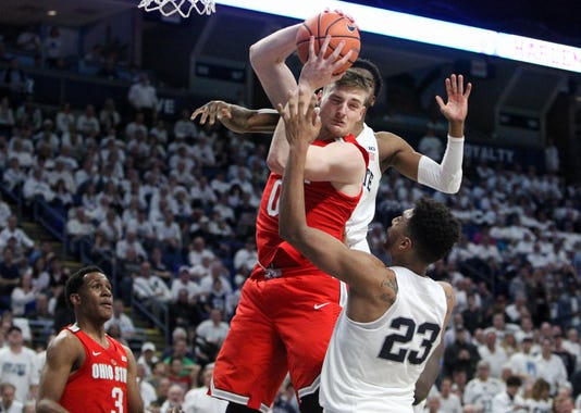 Ncaa Basketball Ohio State At Penn State