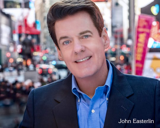 John Easterlin, who has performed at the Metropolitan Opera and on Broadway, will be one of the Three Holiday Tenors at the concerts by the New Jersey Festival Orchestra in Westfield and Morristown on December 15 and 16, respectively.  Joining Easterlin will be classically trained vocalist Brian Cheney and Nelson Ebo from Angola.