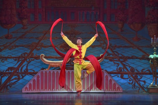 "The Chinese dance is one of the many international melodies found in Tchaikovsky's familiar score to ""The Nutcracker.""  The New Jersey Ballet's colorful production of the holiday ballet, accompanied by members of the New Jersey Symphony Orchestra, returns to the Mayo PAC in Morristown from December 14 through 27."
