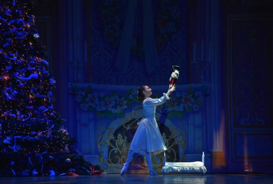 """Clara's love of gift doll is at the heart of """"The Nutcracker,"""" the holiday ballet set to the music of Tchaikovsky. The New Jersey Ballet, now celebrating its 60th season, will brings its annual production of """"The Nutcracker,"""" with live accompaniment by members of the New Jersey Symphony Orchestra, to the Mayo PAC in Morristown through Dec. 27."""