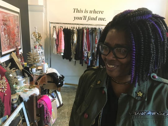 Keiauna White opened BeYOUtiful Boutique this week inside downtown's Kress on Dexter.