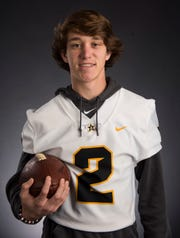 All-Metro athlete Autauga Academy's Tripp Carr poses for a portrait in Montgomery, Ala., on Monday, Dec. 10, 2018.