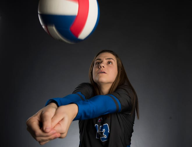 All-Metro athlete Macon East's Madisyn Kennedy poses for a portrait in Montgomery, Ala., on Monday, Dec. 10, 2018.