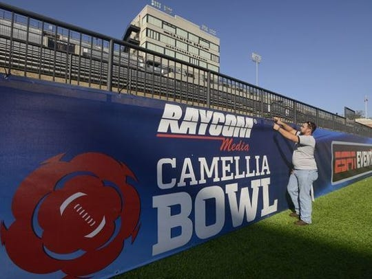 The Camellia Bowl in Montgomery, Alabama