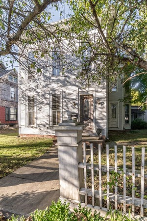 The outside of 516 W. Jackson St., a historic home acquired by local realtor Rebekah Hanna, who is turning the home into a nice Airbnb rental.