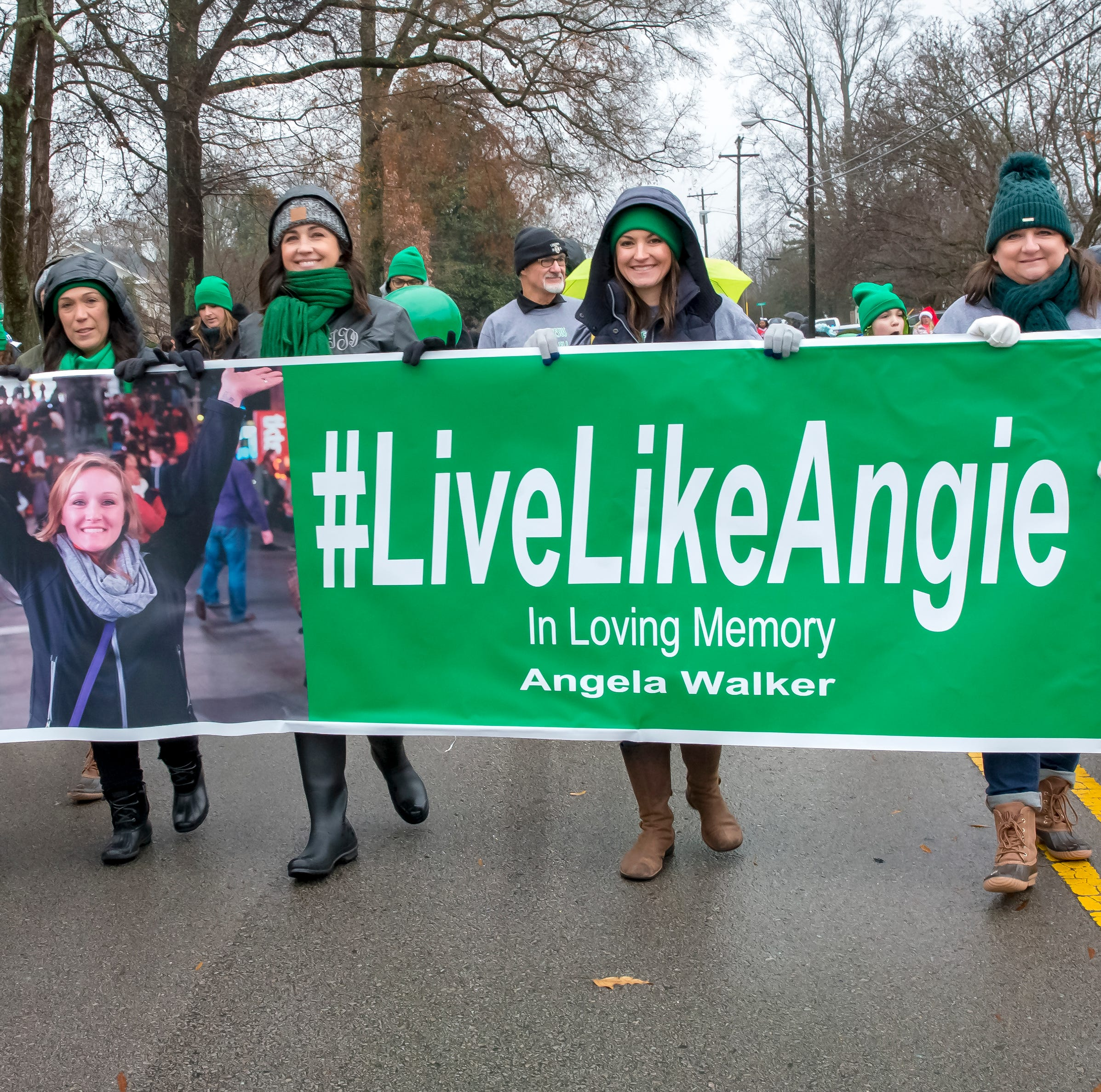 Murfreesboro Christmas parade honors Angie Walker, victim of Tennessee tornado