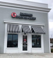 Benchmark Sports Pub + Eatery is in the Berry Farms section of south Franklin.